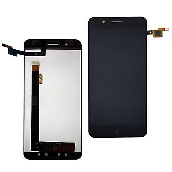 Display full LCD unit touch spare parts for ZTE blade A610 plus repair black new