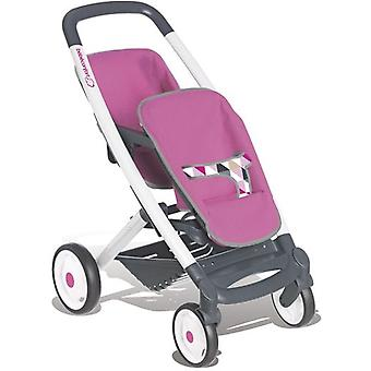 Smoby Twin Comfort Baby Carriage (Toys , Dolls And Accesories , Baby Dolls , Strollers)