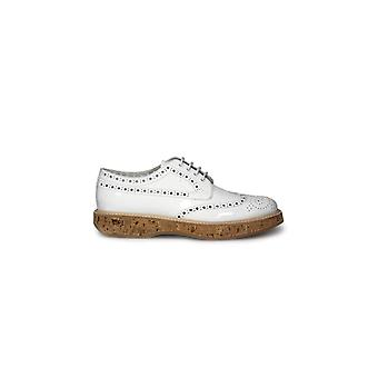 CHURCH'S KEELY PATENT WHITE LACE UP