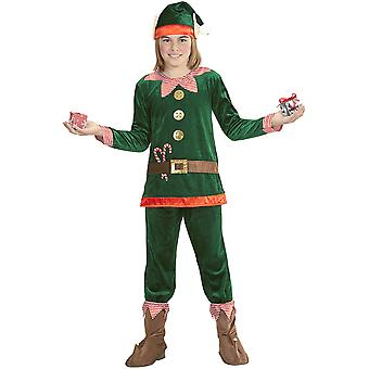 Children's costumes  Christmas elf costume for children