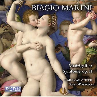 Marini - Madrigali & Symphonie [CD] USA import