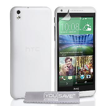 HTC Desire 816 silikon Gel Case - klar
