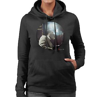 Thelonious Monk Performing At Ronnie Scotts London 1969 Women's Hooded Sweatshirt