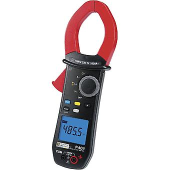 Clamp meter, Handheld multimeter Digital Chauvin Arnoux F401 Calibrated to: Manufacturer's standards (no certificate) C
