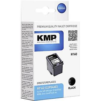 KMP Ink replaced HP C2P04AE (62) Compatible Black