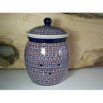 Potato pan, 5 litres, 30 cm high, Ø 18 cm, tradition 51, Bunzlau pottery - BSN 40007