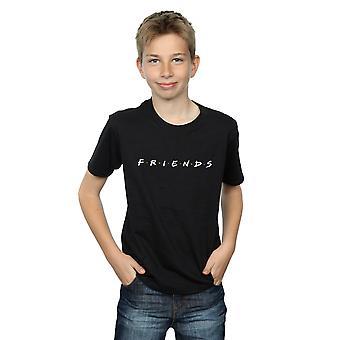 Friends Boys Text Logo T-Shirt