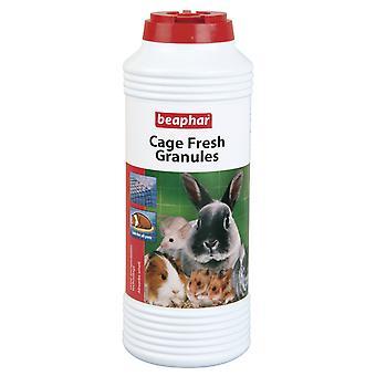 Beaphar Käfig frisches Granulat kleine Tier Hutch Granulat Hamster Kaninchen Ratte 600g