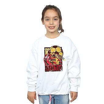 DC Comics Girls Batman Fußball Dream Team Sweatshirt