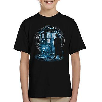 Doctor Who The 10th Storm Kid's T-Shirt
