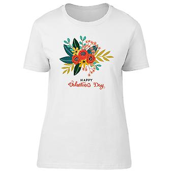 Valentines Day / Flower Fruit Tee Women's -Image by Shutterstock
