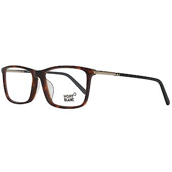 Mont Blanc glasses mens Brown