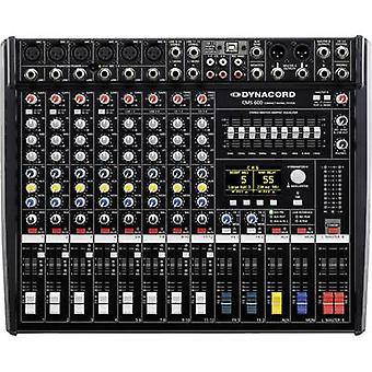 Dynacord CMS 600-3 Mixing console No. of channels:8
