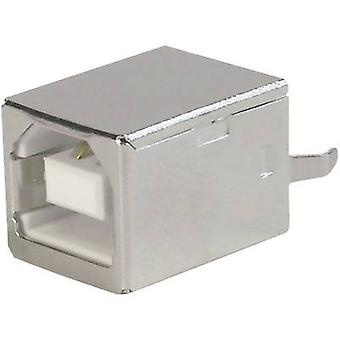 ASSMANN WSW A-USB B-TOP-C USB-mounted Socket 2.0 180? Socket, build-in USB B
