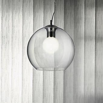 Ideal Lux Nemo Clear 400 Glass Globe Pendant