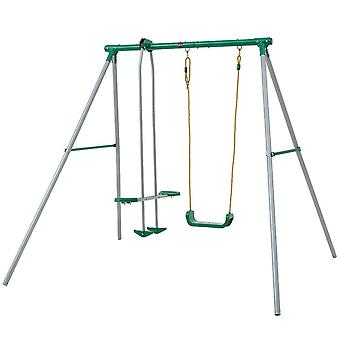 Plum Helios II Swing Set