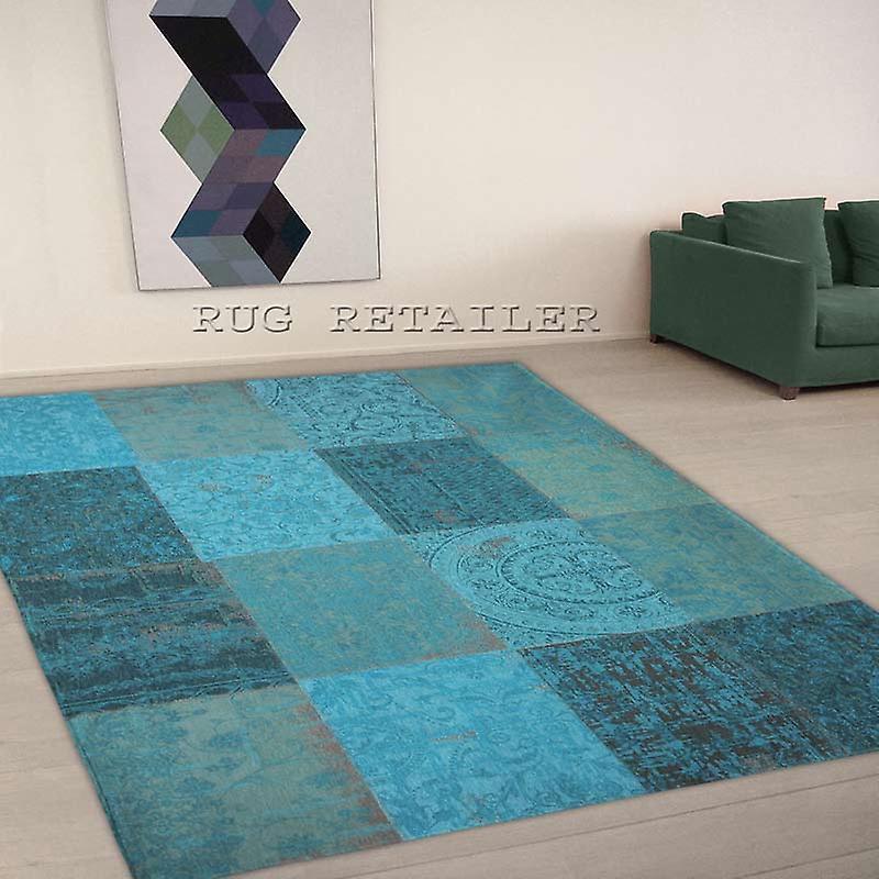 Teppiche - Vintage - Multi Azur 8015