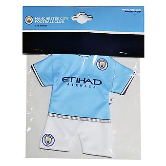Manchester City FC Official Mini Kit Hanger