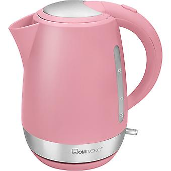 Clatronic Kettle challenge 1.7 litres WK 3691 pink