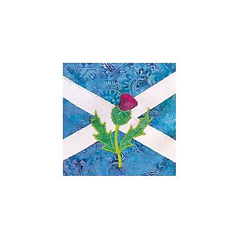 Union Jack Wear Saltire & Thistle - Scotland - Birthday Card