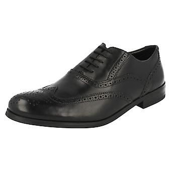 Mens Clarks Brogue Formal Shoes Brint Brogue