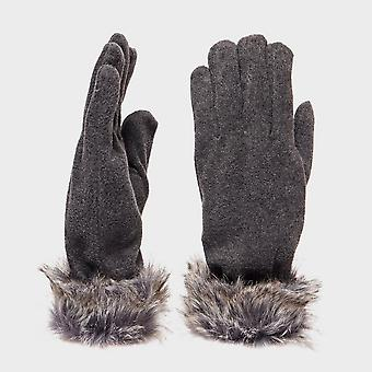 Peter Storm Women's Cam Fur Gloves