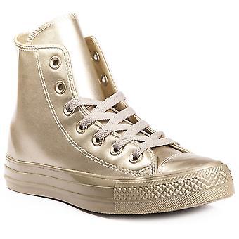 Converse Chuck Taylor todos estrellas líquido metálico 157631C zapatos de mujer