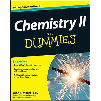 Chemie II für Dummies von John T. Moore - 9781118164907 Buch