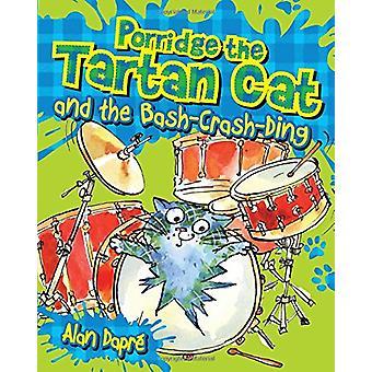 Gachas de avena del gato de tartán y el Bash-Crash-Ding por Alan Dapre - Yuliy