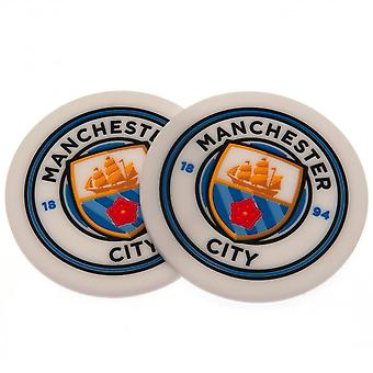 Manchester City FC Coaster Set (Pack Of 2)