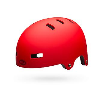 Casque de skate mate rouge 2018 Local Bell