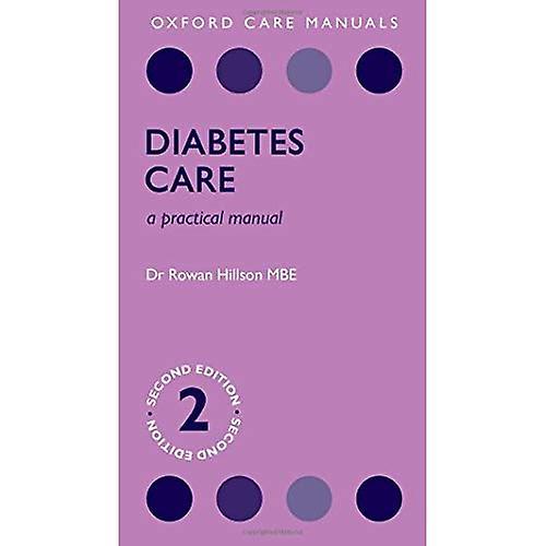 Diabetes voituree  A Practical Manual (Oxford voituree Manuals)