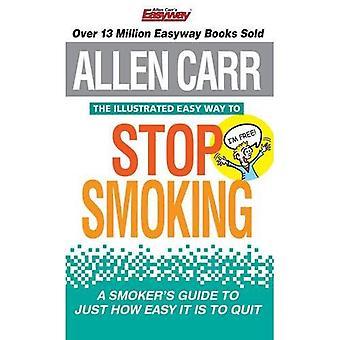 Det illustrerade enkla sättet att sluta röka