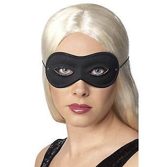 Womens zwart Farfalla Eyemask Fancy Dress accessoire