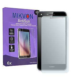 Huawei Y6 II Compact Screen Protector - Mikvon AntiSun (Retail Package with accessories)