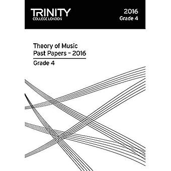 Trinity College London Theory of Music Past Paper� (2016) Grade 4