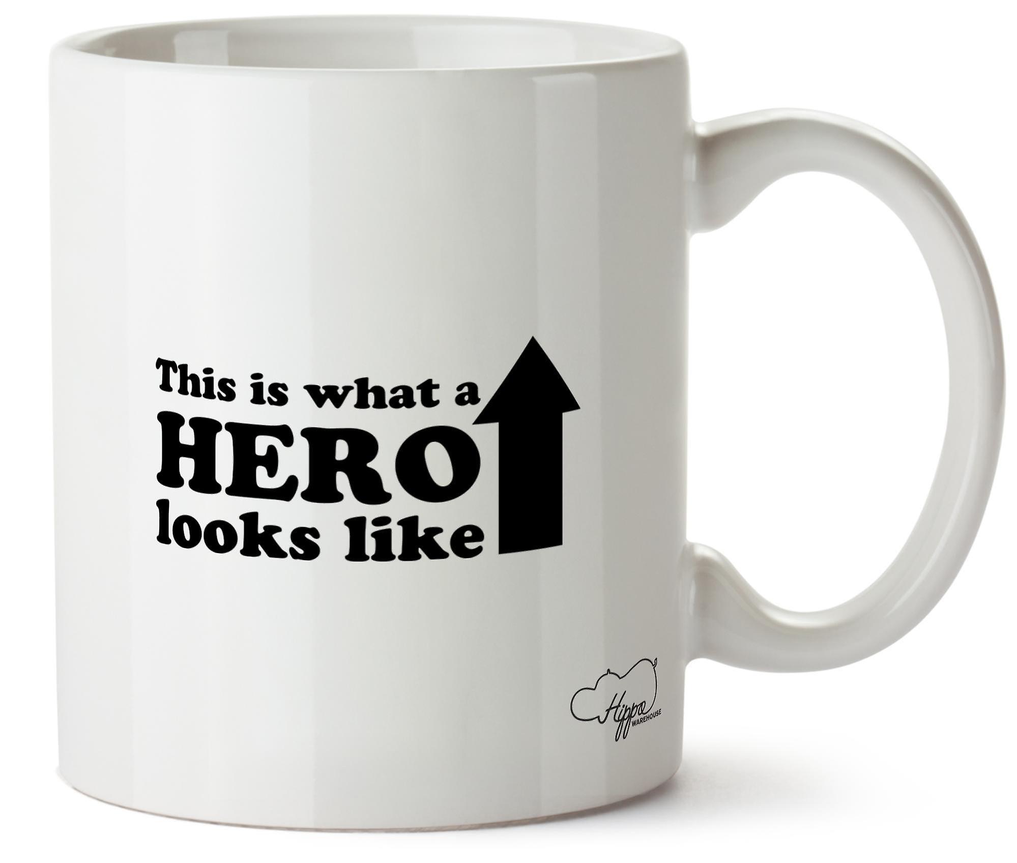 Héros Ressemble S'agit De Tasse Céramique Il A Mug À Imprimé Hippowarehouse 10oz What 2YDWH9eEIb