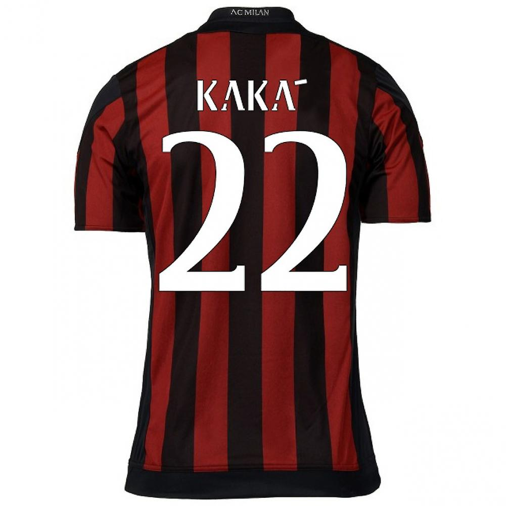 2015-16 AC Milan Home Shirt (Kaka 22)