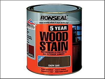 Ronseal 5 Year Woodstain Dark Oak 2.5 Litre