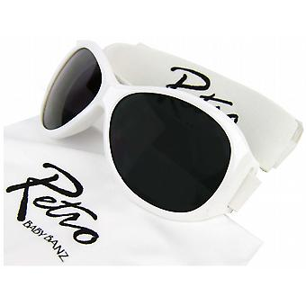 Baby Banz Retro Sunglasses - White
