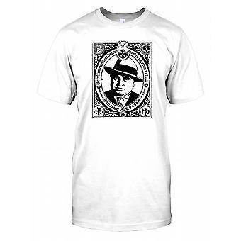 Sanctus Al Caponis - Al Capone Portrait Mens T Shirt
