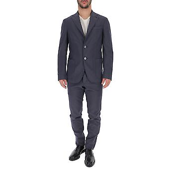 The Gigi Blue Cotton Suit