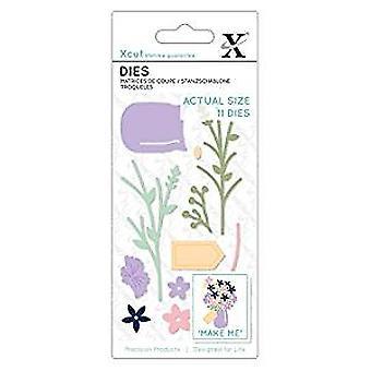 Xcut kleine sterft Flower Pot (11pcs) (XCU 504118)