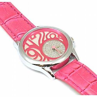 Anaii Pink 'Be Pink' Pink Strap Ladies Fashion Watch AP259