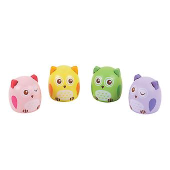 Bigjigs Toys Owl Pencil Sharpeners (Pack of 6)
