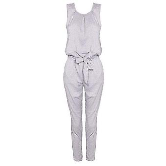 Womens chic overlay casual Spark dräkt Jumpsuit
