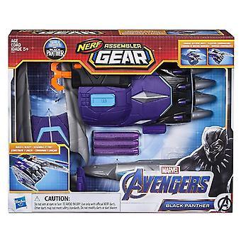 NERF Assembler Gear, Avengers - Black Panther