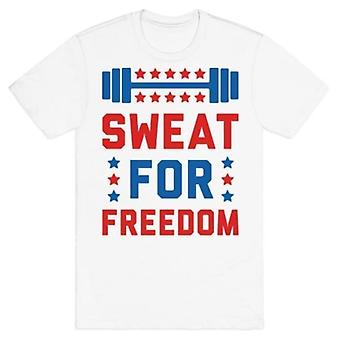 Sweat for freedom t-shirt