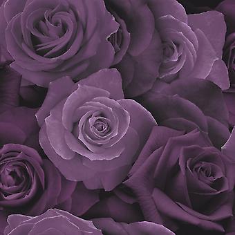 Arthouse Austin Rose patroon behang bloemen bloem Petal fotografische motief 675601