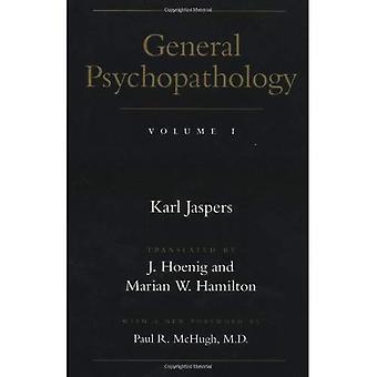 General Psychopathology: Volume 1